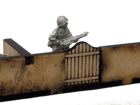 "20mm 1:72 ""The Terrace Front and Back Yards Set"""