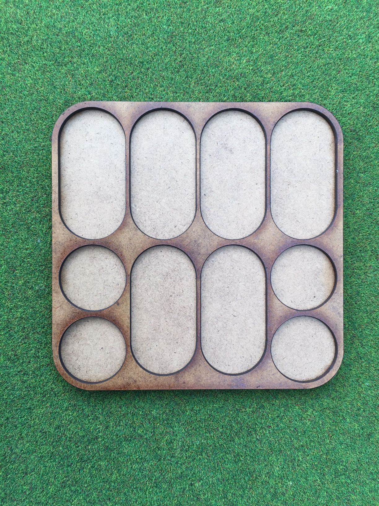Foot Cavalry Movement Tray (25mm pill bases & 25mm round) 6 horse 4 foot