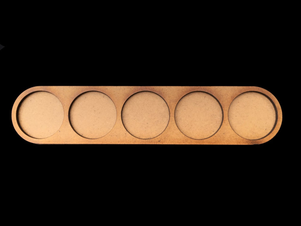 5 Man Movement Tray (25mm bases)
