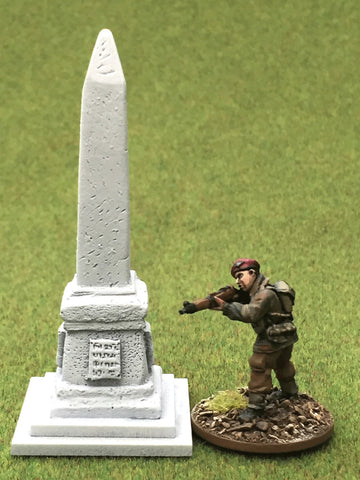 "28mm 1:56 Resin ""Needle Memorial"" by Debris of War"