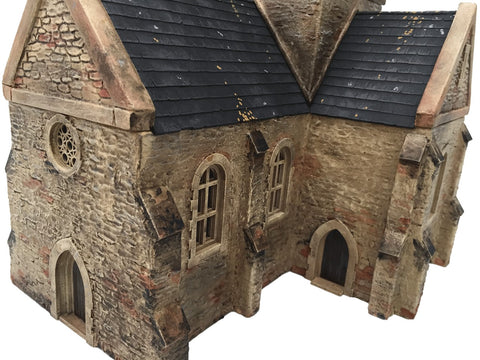 "28mm 1:56 ""Eglise"" (French Church) PLAIN WALL VERSION"