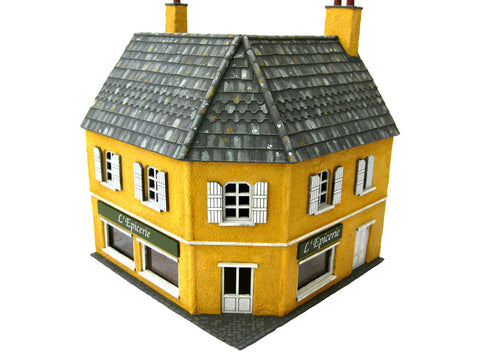 "28mm 1:56  ""L'Epicerie"" grocers shop"
