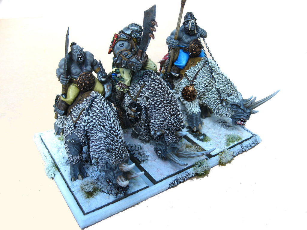 Movement Tray 100mm x 100mm (Chariot Troop)