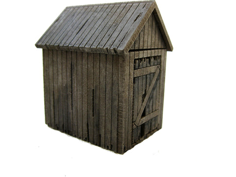 28mm 1:56 Old Shed