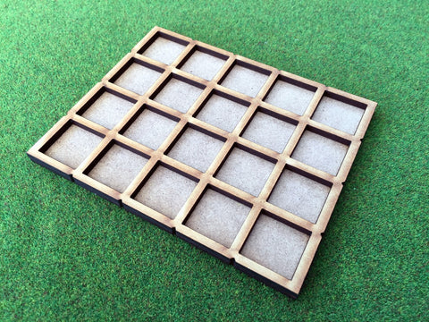 20 Man Skirmish Movement Tray for 20mm bases. (Oathmark size)