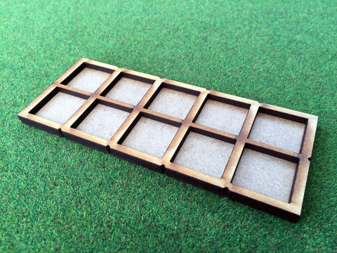 10 Man Skirmish Movement Tray for 20mm bases. (Oathmark size)