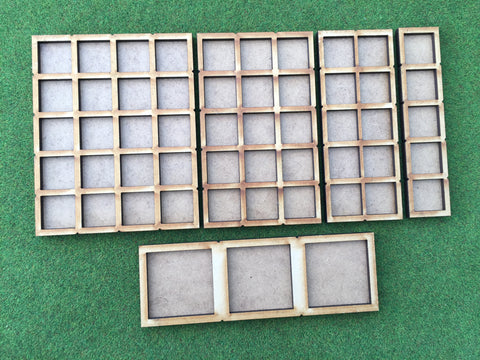 15 Man Skirmish Movement Tray for 20mm bases. (Oathmark size)