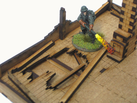 "28mm 1:56 Eastern Front ""Razed 1"""