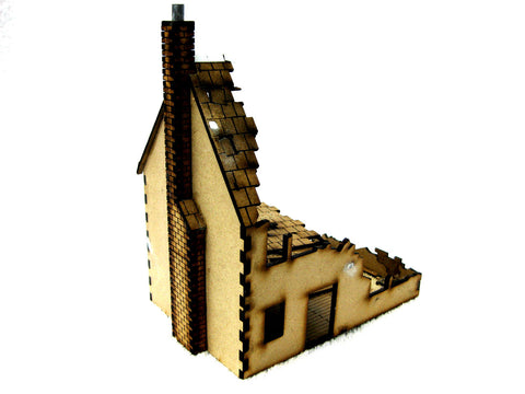 "28mm 1:56 ""Ruined House 1"""