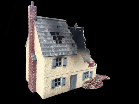 "28mm 1:56 ""Ruined House 2"""