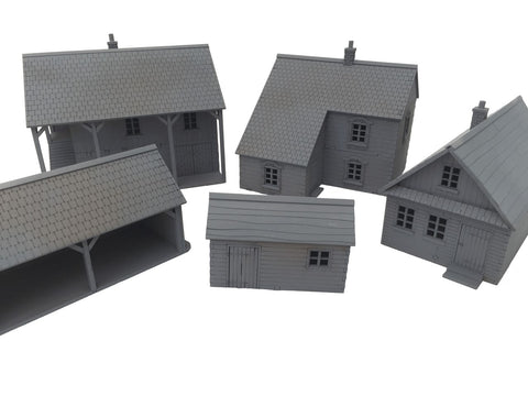 "20mm 1:72 Eastern Front ""Rural House 4"""