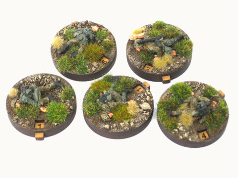 """Dial Counters"" pin markers / gaming aid (5 piece set)"
