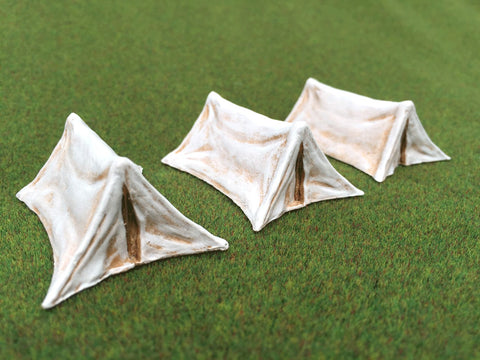 "28mm 1:56 ""Small Ridge Tent"" x 3 by Debris of War"