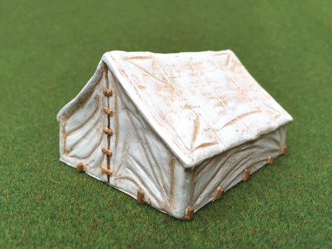 "28mm 1:56 ""19th Century Command Tent""  by Debris of War"