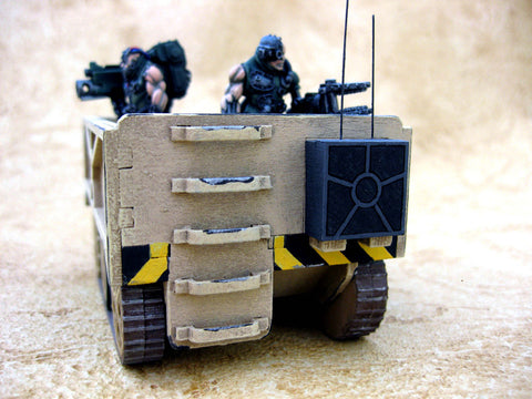 "28mm 1:56 Sci-Fi ""Tracked Haulier"""