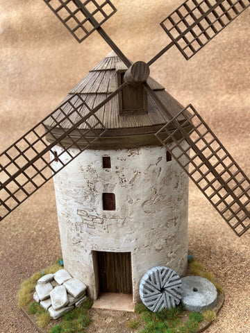 "28mm 1:56 ""Spanish Windmill"" Kit B"