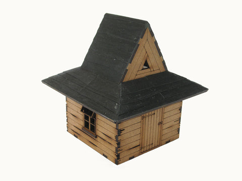 "28mm 1:56 Roof Tiles 8 ""Waney Edge Planks"""