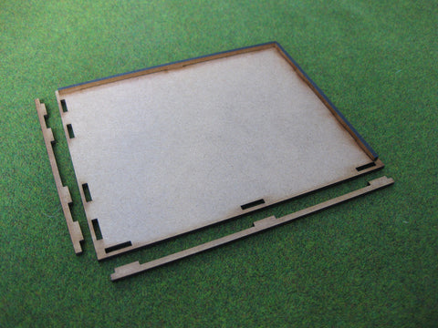 Movement Tray 120mm x 40mm (Large Infantry Regiment)