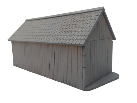"20mm 1:72  ""Wagon Shed"""