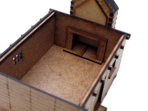 "28mm 1:56 New World ""Workers' House 1"""