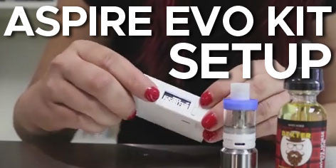 ow to set up the Aspire EVO kit