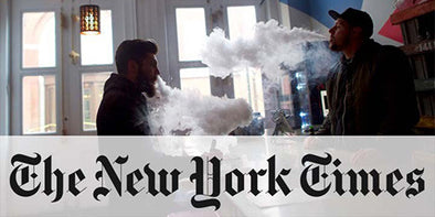NY Times: Evidence suggests vaping safer than smoking