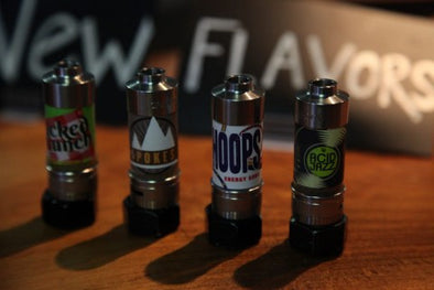 Four new juice flavors!