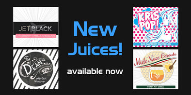 Four more NEW juice flavors to try!
