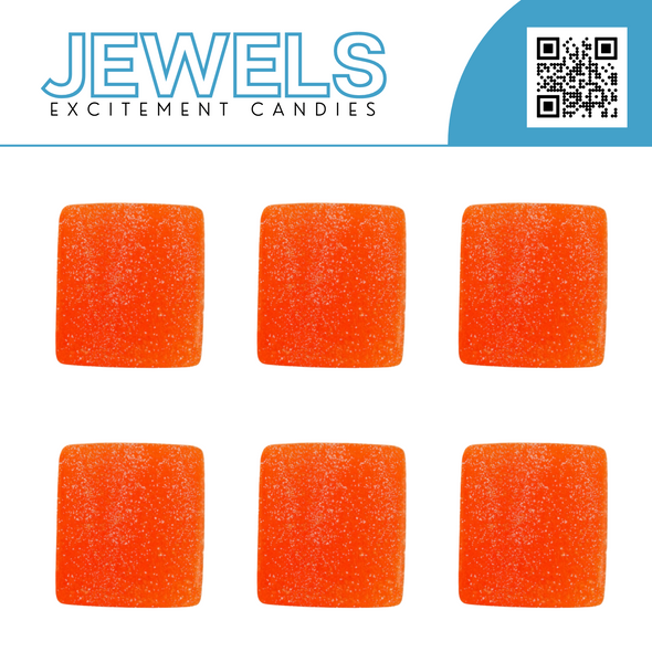 One Jewel Excitement Candy: Peach - White Horse Vapor
