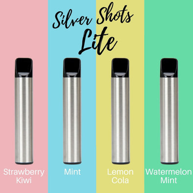 Silver Shot Lite Disposables (1000+ Puffs) - White Horse Vapor