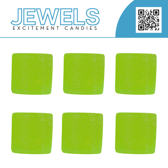 One Jewel Excitement Candy: Green Apple - White Horse Vapor