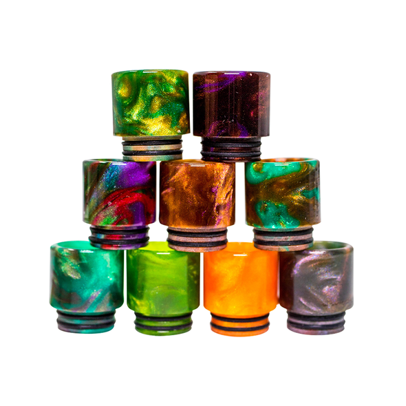 810 Drip Tips - Resin - White Horse Vapor