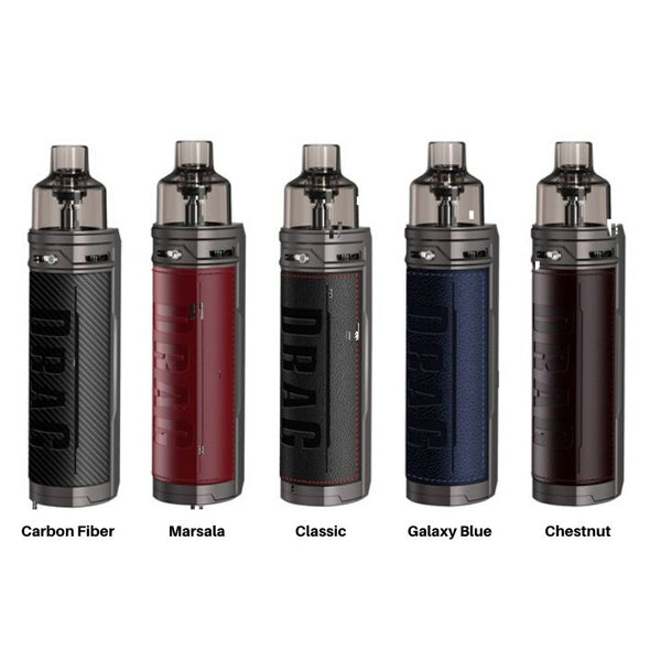 VOOPOO Drag X Mod Pod Kit All Colors - White Horse Vapor