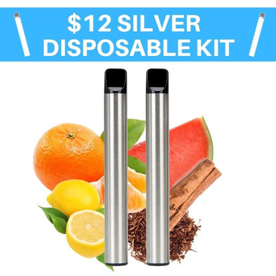 Special Silver Disposable Vape Kit