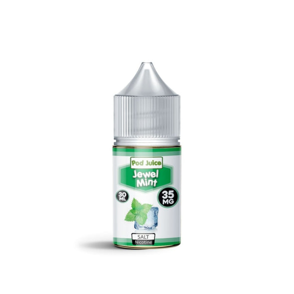 Pod Juice Salt: Jewel Mint - White Horse Vapor