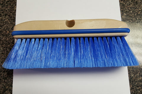 "Brush Nylon 10"" Blue"