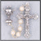 First Communion Rosary - Imitation Pearl