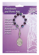 Patron Blessings One Decade Rosary - Foreclosure and Home Sale - Saint Joseph