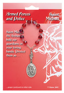 Patron Blessings One Decade Rosary - Armed Forces and Police - Saint Michael