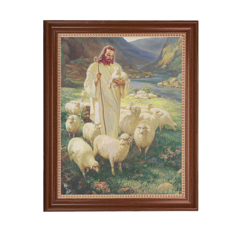 "Good Shepherd Framed Print - 11"" x 14"" (2 Frame Options)"