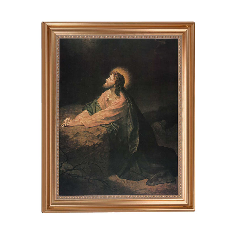 "Agony in the Garden Framed Print - 11"" x 14"" (2 Frame Options)"