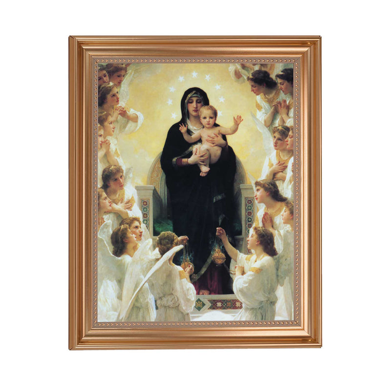 "Queen Of Angels Framed Print - 11"" x 14"" (2 Frame Options)"