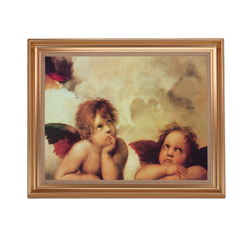 "Sistine Angels Framed Print - 11"" x 14"" (2 Frame Options)"