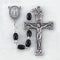 Handcrafted Black Polished Wood First Communion Rosary