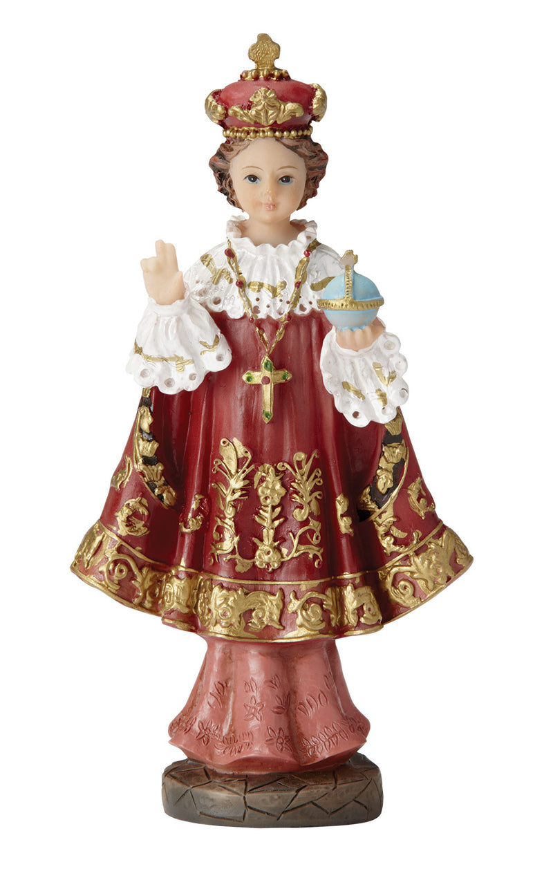 Infant of Prague Statue - Color - 5.5""