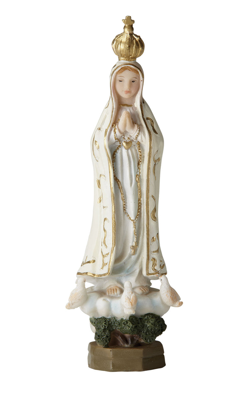 Our Lady of Fatima Statue - Color - 5.5""