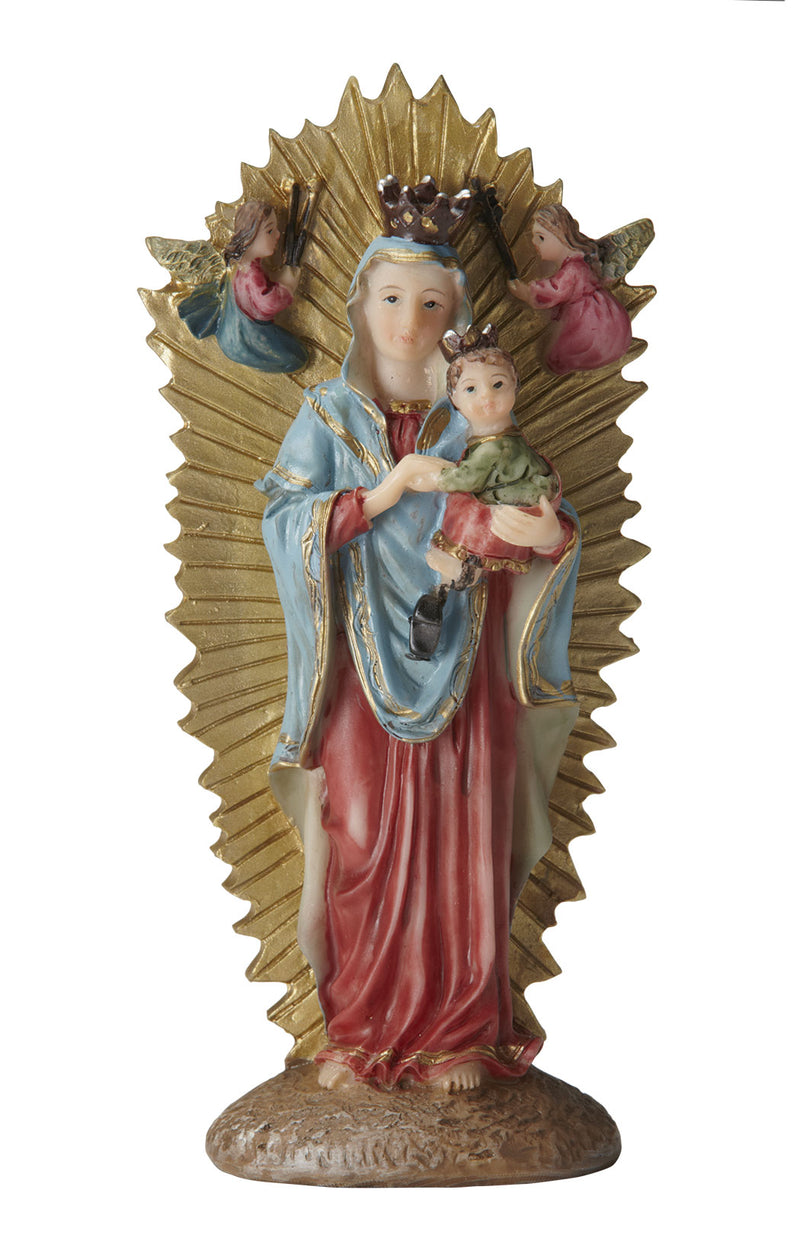 Our Lady of Perpetual Help Statue - Color - 5.5""