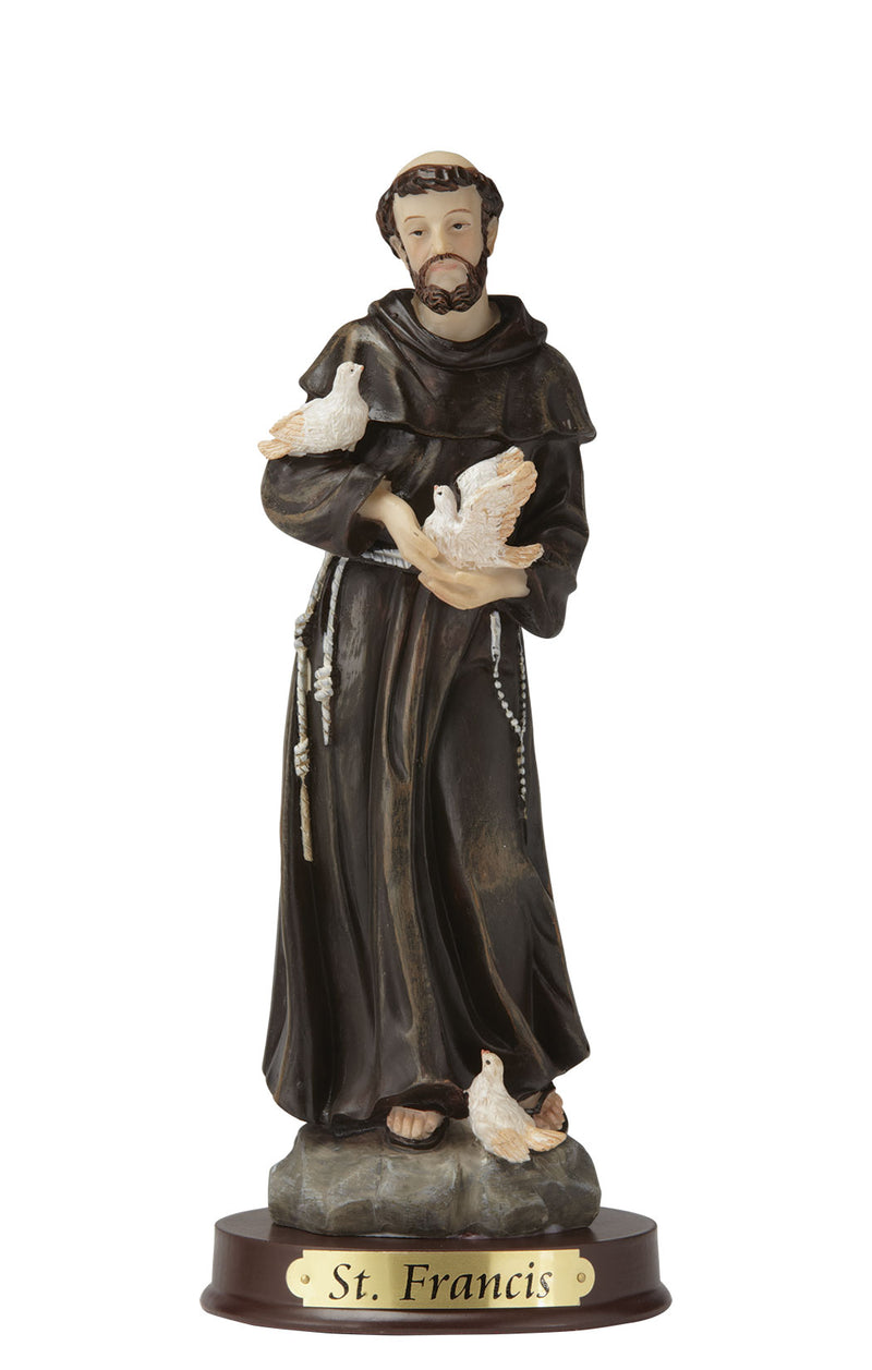 "St. Francis Statue - Color - 8"" or 12"""