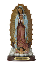 "Our Lady of Guadalupe Statue - Color - 8"" or 12"""