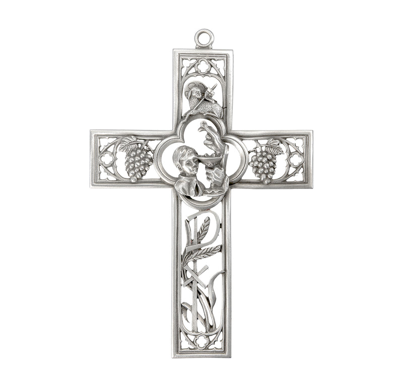 Pewter Communion Cross (Boys)